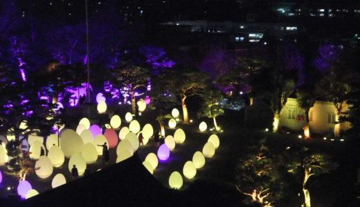 【推しイベント!】チームラボ  高知城 光の祭