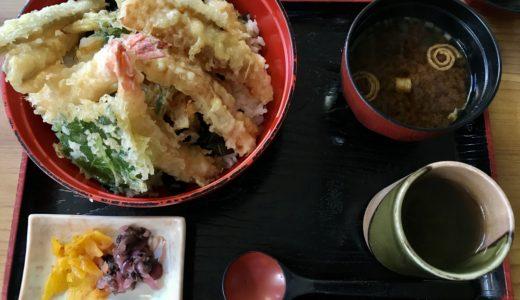レストラングドラック🍀のお料理紹介 タワー天丼🍚🥢